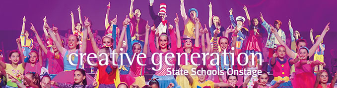 Creative Generation – State Schools Onstage